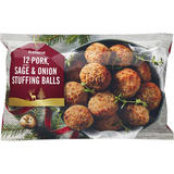 Iceland 12 (approx.) Pork, Sage and Onion Stuffing Balls 300g