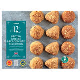 Iceland 12 British Cheese Breaded Bite Selection 288g