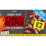 Iceland 12 Carolina Reaper Pigs in Blankets 252g