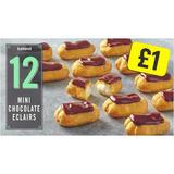 Iceland 12 Mini Chocolate Eclairs 140g