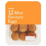 Iceland 12 Mini Savoury Eggs 216g