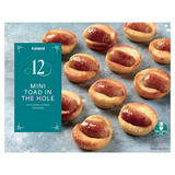 Iceland 12 Mini Toad in the Hole with Pork and Honey Sausages 258g