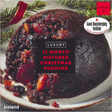Iceland 12 Month Matured* Christmas Pudding 400g