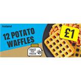 Iceland 12 Potato Waffles 680g