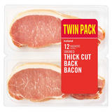 Iceland 12 Rashers (approx.) Smoked Thick Cut Back Bacon 500g