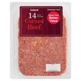 Iceland 14 (Average) Corned Beef Slices 370g