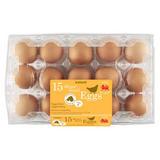 Iceland 15 Mixed Sized Eggs 807g
