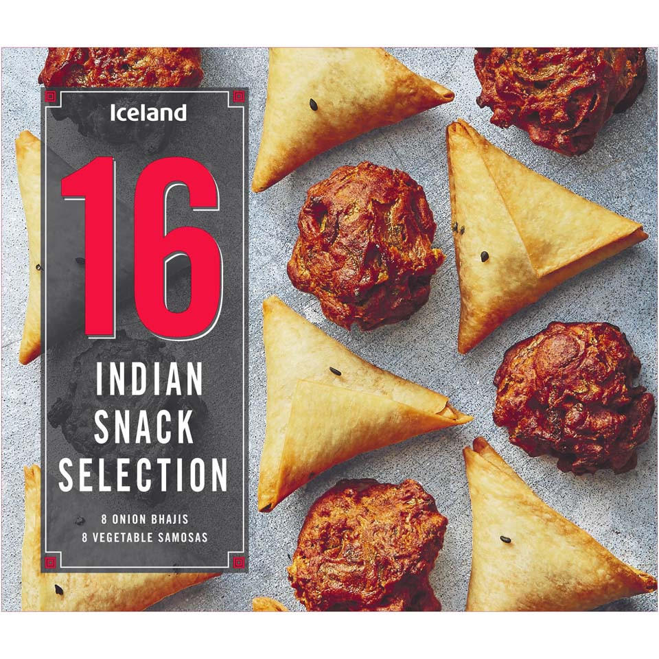 Iceland 16 Indian Snack Selection 240g Party Food