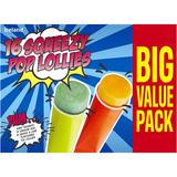 Iceland 16 Squeezy Pop Lollies 1.12kg