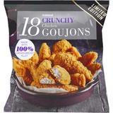 Iceland 18 (approx.) Crunchy Chicken Breast Goujons 800g