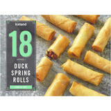 Iceland 18 (Approx.) Duck Spring Rolls 324g