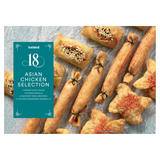 Iceland 18 Asian Chicken Selection 318g