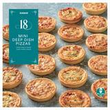 Iceland 18 Mini Deep Dish Pizzas 504g