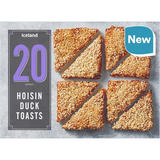 Iceland 20 (approx.) Hoisin Duck Toasts 260g