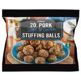 Iceland 20 Pork, Sage & Onion Stuffing Balls 500g
