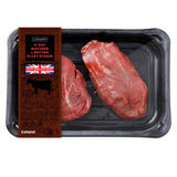 Iceland 21 Day Matured 2 British Fillet Steaks 340g
