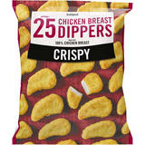Iceland 25 (approx.) Crispy Chicken Breast Dippers 450g