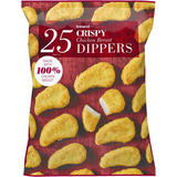 Iceland 25 Crispy Chicken Breast Dippers 450g