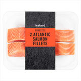 Iceland 2 Atlantic Salmon Fillets 260g