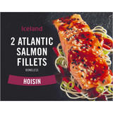 Iceland 2 Atlantic Salmon Fillets Hoisin 270g