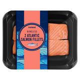 Iceland 2 Boneless Atlantic Salmon Fillets 260g
