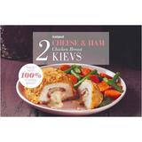 Iceland 2 Cheese & Ham Chicken Kievs  250g
