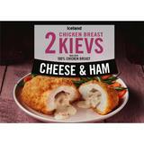 Iceland 2 Cheese and Ham Chicken Breast Kievs 250g