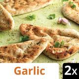 Iceland 2 Garlic & Coriander Naan Breads