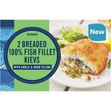Iceland 2 Garlic & Herb Fish Fillet Kievs 280g