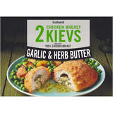 Iceland 2 Garlic and Herb Butter Chicken Breast Kievs 250g
