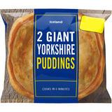 Iceland 2 Giant Yorkshire Puddings 220g