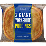 Iceland 2 Giant Yorkshire Puddings 220g