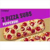 Iceland 2 Pizza Subs Pepperoni 264g
