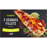 Iceland 2 Sea Bass Fillets Zesty Lime & Chilli 220g