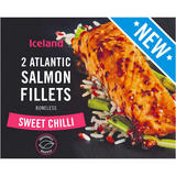 Iceland 2 Sweet Chilli Atlantic Salmon Fillets 250g