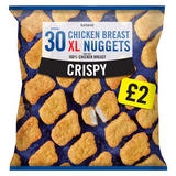 Iceland 30 Approx. Crispy Chicken Breast XL Nuggets 660g