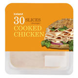 Iceland 30 Cooked Chicken Slices (Average) 350g