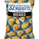 Iceland 32 Approx. Breaded Chicken Breast Nuggets 448g