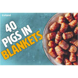 Iceland 40 (approx.) Pigs in Blankets 840g