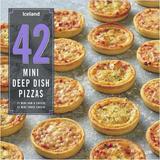Iceland 42 Mini Deep Dish Pizzas 1.176kg
