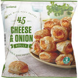Iceland 45 Cheese & Onion Rolls 675g