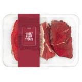 Iceland 4 Beef Rump Steaks 908g