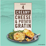 Iceland 4 Cheese & Potato Creamy Gratins 480g