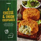 Iceland 4 Cheese and Onion Crispbakes 454g