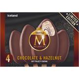Iceland 4 Chocolate & Hazelnut Truffle Majestics 256g
