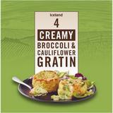 Iceland 4 Creamy Broccoli & Cauliflower Gratin 480g