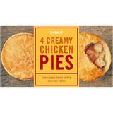 Iceland 4 Creamy Chicken Pies 568g