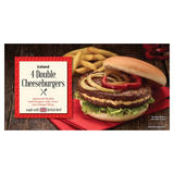 Iceland 4 Double Cheeseburgers 454g