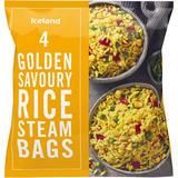 Iceland 4 Golden Savoury Rice Steam Bags 600g