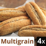 Iceland 4 Multigrain Part Baked Petits Pains
